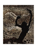 Spring Night and Willow Giclee Print by Nikolai Astrup