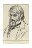 Portrait of Thomas Carlyle Giclee Print by George Howard