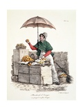 Orange Seller, Print Made by Delpech, 1808 Giclee Print by Carle Vernet