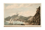 View of the Bay and Town of St. Pierre, Martinique, Illustration from 'An Account of the Campaign… Giclee Print by Cooper Willyams