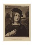 Portrait of Federigo Gonzaga Giclee Print by Il Francia