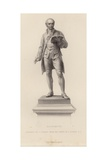 Statue of Oliver Goldsmith Giclee Print by John Henry Foley