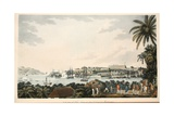 N.E. View of Fort Louis in the Island of Martinique, Illustration from 'An Account of the… Giclee Print by Cooper Willyams