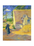Farmhouse at Le Pouldu, 1890 Giclee Print by Paul Serusier