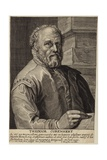 Portrait of Theodore Cornhert Giclee Print by Hendrik Goltzius