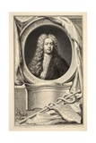Portrait of William Wyndham, Illustration from 'Heads of Illustrious Persons of Great Britain',… Giclee Print by Jacobus Houbraken