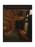 Setesdal Interior Giclee Print by Olaf Isaachsen