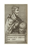 Pythagoras of Samos Giclee Print by Andre Thevet