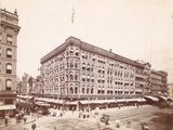 Lit Brothers, Market Street at 8th, Northeast Corner, 1898 Papier Photo