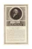 Portrait of Jean-Paul Marat Giclee Print by Jean Duplessi-Bertaux