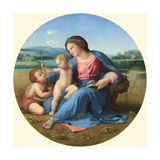 The Alba Madonna, C. 1510 Giclee Print by  Raphael