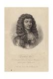 Portrait of King Louis Xiv Impression giclée par Robert Nanteuil
