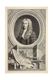 Portrait of Charles, Lord Talbot, Illustration from 'Heads of Illustrious Persons of Great… Giclee Print by Jacobus Houbraken