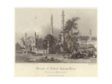 Mosque of Abdul Raheim Khan Giclee Print by Henry Warren