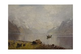 From Sognefjorden Giclee Print by Hans Andreas Dahl