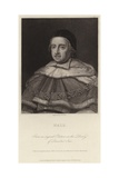 Sir Matthew Hale Giclee Print by J.W. Cook