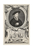 Portrait of Edward Seymour, Duke of Somerset, Illustration from 'Heads of Illustrious Persons of… Giclee Print by Jacobus Houbraken
