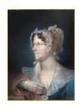 Portrait of the Artist's Wife, 1839 Giclee Print by John Bacon
