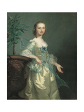 Portrait of a Lady, Said to Be Isabella Courtenay Giclee Print by Thomas Hudson