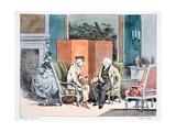 Je N'Aime Pas Les Epinards, C.1828 Giclee Print by Henri Bonaventure Monnier