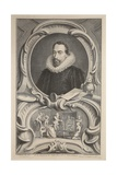 Portrait of Sir Francis Walsingham, Illustration from 'Heads of Illustrious Persons of Great… Giclee Print by Jacobus Houbraken