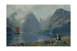 From Balestrand Giclee Print by Hans Andreas Dahl