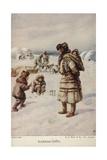 Eskimo Life Giclee Print by Evelyn Stuart Hardy