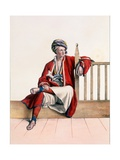A Young Greek from Thessaly - Plate Xiii, Engraved by Lemercier from 'Voyage À Athènes Et a À… Giclee Print by Louis Dupré