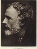 Portrait of George Meredith Photographic Print