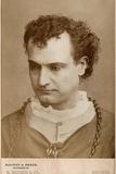 Edwin Booth as Hamlet, C.1882 Photographic Print