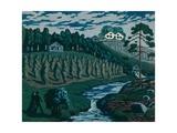 Large Sheaves Giclee Print by Nikolai Astrup