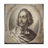 Francisco De Quenot Giclee Print by Joachim Von Sandrart