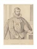 Portrait of Torquato Tasso Giclee Print by Alessandro Allori