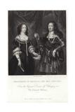 Portrait of Ferdinand of Medicis and His Consort Giclée-Druck von Diego Rodriguez de Silva y Velazquez