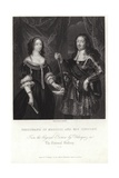 Portrait of Ferdinand of Medicis and His Consort Giclee Print by Diego Rodriguez de Silva y Velazquez