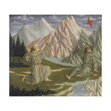 Saint Francis Receiving the Stigmata, C. 1445-50 Giclee Print by Domenico Veneziano