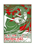Art Nouveau Poster Depicting Pan, 1895 Giclee Print by William Bradley