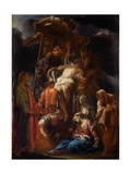 Deposition (Descent from the Cross), C.1698 Giclee Print by Francesco Trevisani