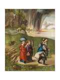 Lot and His Daughters, C. 1496-99 Giclee Print by Albrecht Dürer or Duerer