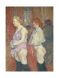 Rue Des Moulins, 1894 Giclee Print by Henri de Toulouse-Lautrec