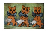 Famous Tenors Giclee Print by Louis Wain