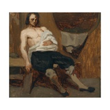Wounded Man, 1866 Giclee Print by Olaf Isaachsen