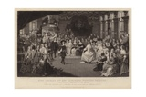 King Charles II and Elizabeth, Princess Palatine Giclee Print by Gheerart Janssen