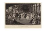 King Charles II and Elizabeth, Princess Palatine Giclee Print by Gheerart Janssen