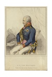 G L Von Blucher, Field Marshal of the Prussian Forces (1742-1819) Giclee Print by German School