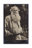 Leo Tolstoy (1828-1910), Russian Novelist, Short Story Writer and Playwright Giclee Print by Jan Styka