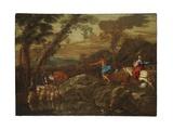 Jacob's Journey, 1633 Giclee Print by Giovanni Benedetto Castiglione
