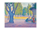 Saint-Tropez, Fontaine Des Lices, 1895 Giclee Print by Paul Signac