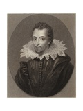 Sir Thomas Overbury Giclee Print by Isaac Oliver