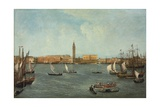 The Bacino Di San Marco, Venice, Looking Towards to Molo Giclee Print by Michele Marieschi